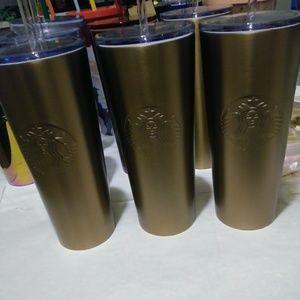 Starbucks Copper Tumbler